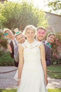 Photo mariage groupe bordeaux