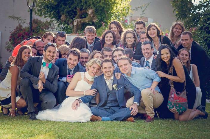 photo mariage groupe