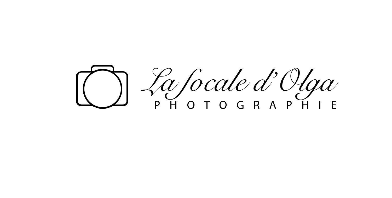 Logo du site internet du photographe de mariage à bordeaux la focale d'olga