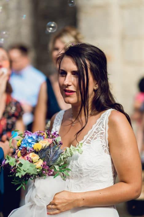 sortie église mariage