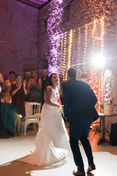 première danse mariage château lardier