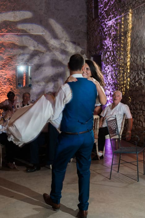 danse des mariés château lardier