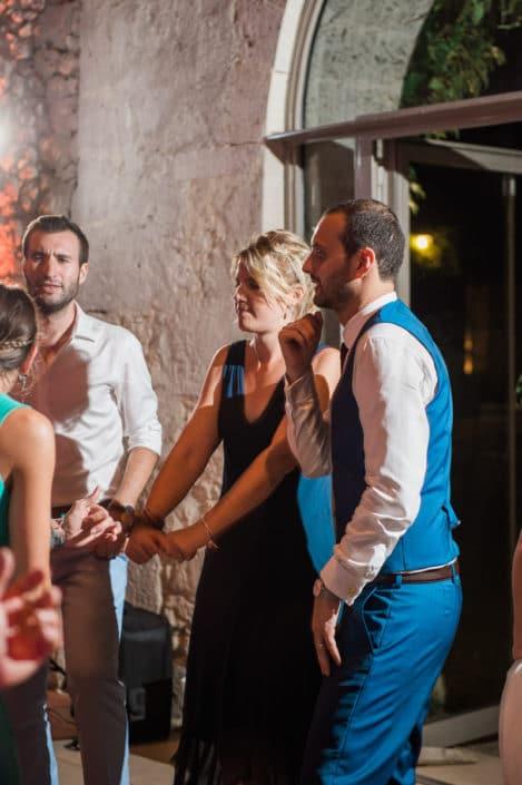 soirée mariage château lardier