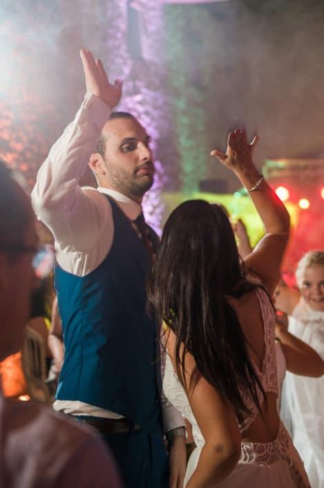 danse mariés château lardier