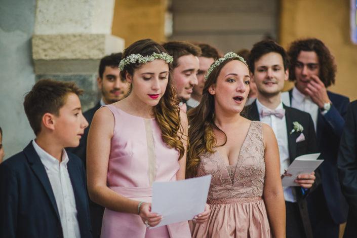 Chant mariage à l'église st Eloi à biganos