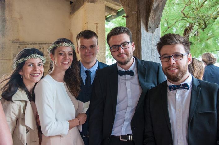 Reportage invités de mariage