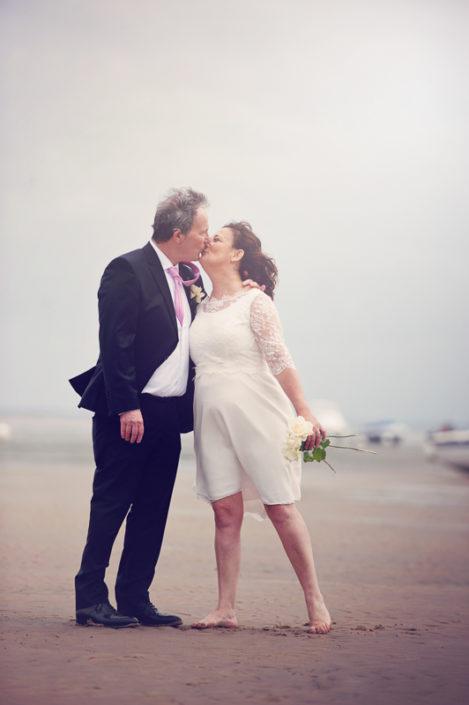 Photo de couple mariage à biganos