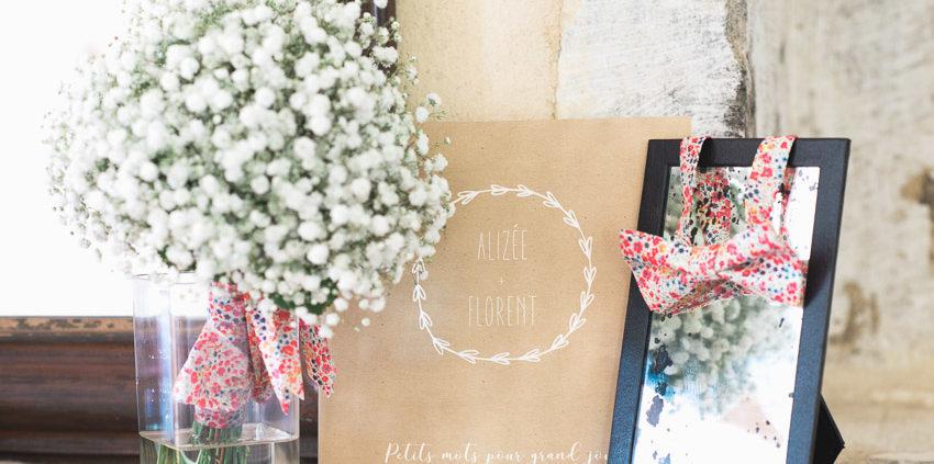 Décoration mariage bouquet de la mariée