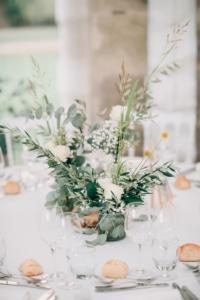 Bouquet de table de mariage